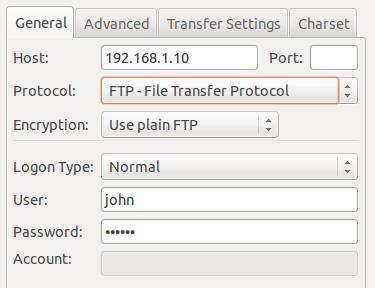 Installare un server FTP (vsftpd)