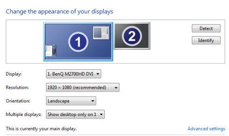 risoluzione dello schermo e formato