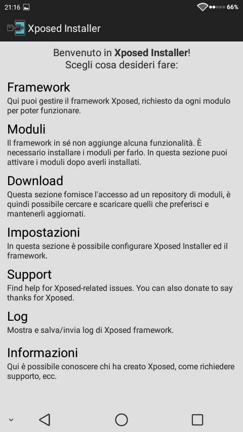 xposed: introduzione ed installazione