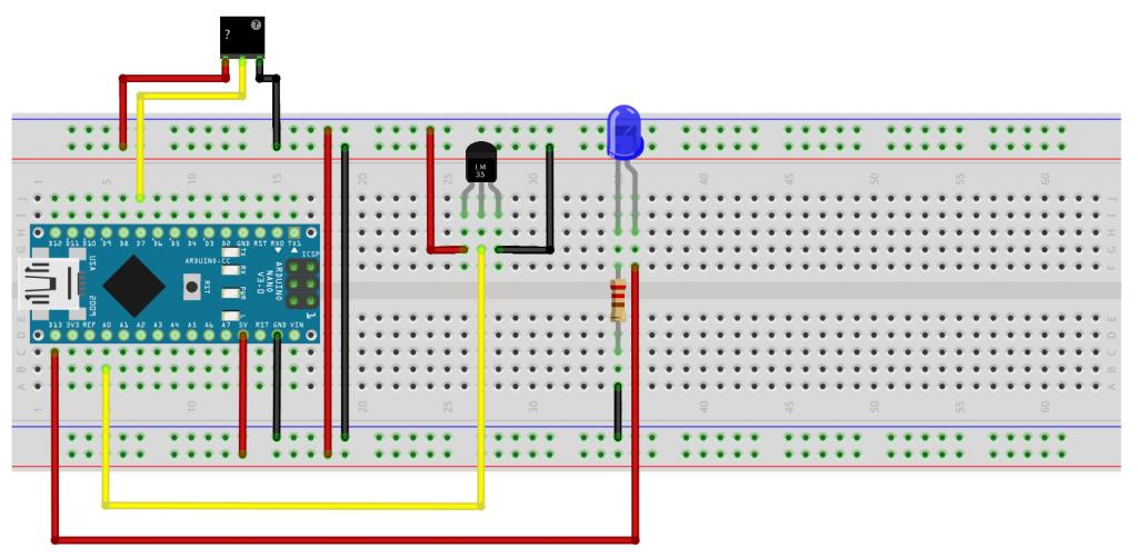 Arduino: controllo a distanza della temperatura